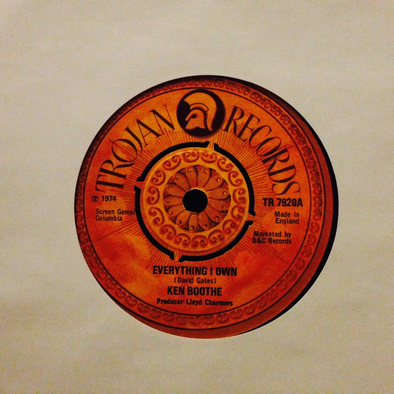 Ken Boothe Everything I own / Drum song